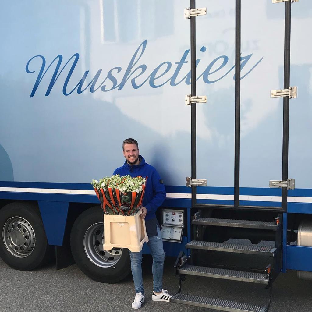 Musketier Blumen